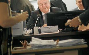Bernard Brochand est élu président de la communauté d'agglomération.