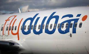 Un avion de la compagnie Flydubai (photo d'illustration).