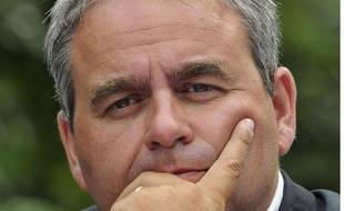 L'ancien ministre Xavier Bertrand, le 25août 2012 à Nice.
