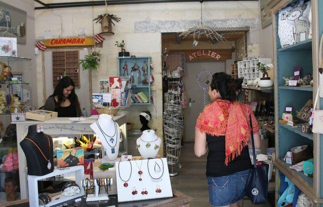 La boutique RéCréations à Blanquefort