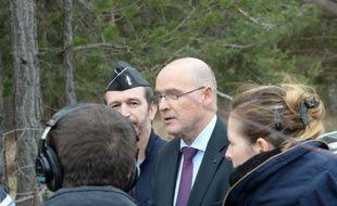 Le procureur Brice Robin le 25 mars 2015 à Seyne-les-Alpes