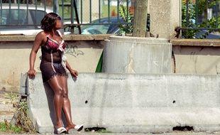 Une femme prostituée à Lyon, en 2012