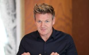 Le chef Gordon Ramsay, à Bordeaux le 17 octobre 2016