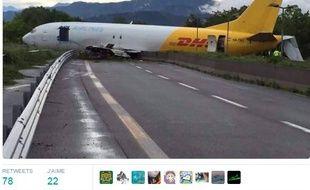 Accident d'avion à Bergame, en Italie.