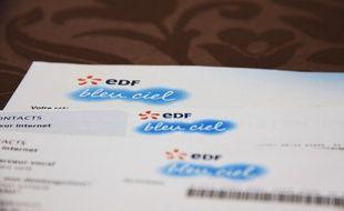 Illustration tarifs d'EDF.