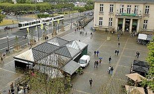 L'emplacement idéal de ce grand pôle commercial serait le square Daviais.