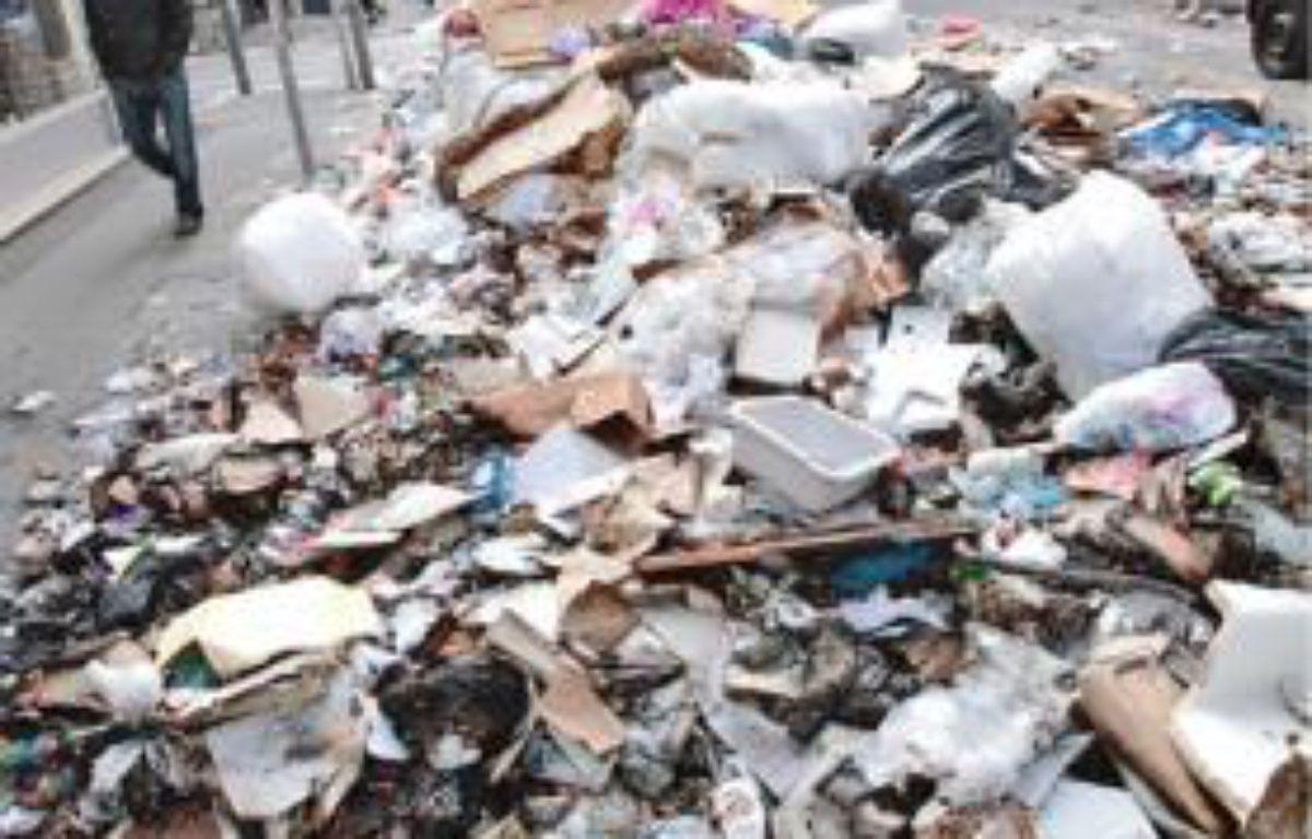 Dix mille tonnes de déchets sont à ramasser. –  P.MAGNIEN / 20 MINUTES
