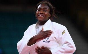 Clarisse Agbegnenou est championne olympique de judo.