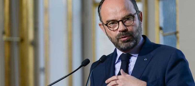 Edouard Philippe à Matignon le 26 février 2019.
