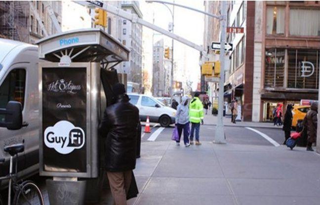 La Guy Fi est installée à l'angle des rues de la 28e et de la 5e