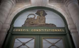 Illustration du Conseil Constitutionnel à Paris.