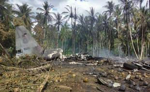 Un avion de transport de l'armée philippine s'est écrasé dans le sud-ouest de l'archipel, faisant 50 morts.