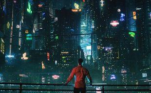 Altered Carbon, série cyberpunk de Netflix. Illustrationn