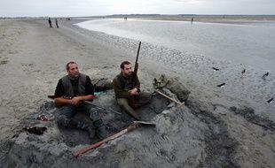 Ouverture de la chasse au gibier d'eau en baie de Somme.