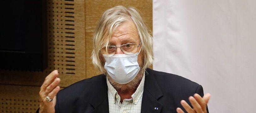 Didier Raoult, auditionné par le Sénat, le 15 septembre.