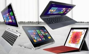 L'ordinateur hybride emprunte la mobilité de la tablette mais est plus proche de la puissance d'un notebook traditionnel.