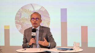 Lionel Royer Perreaut, président de la Soleam.