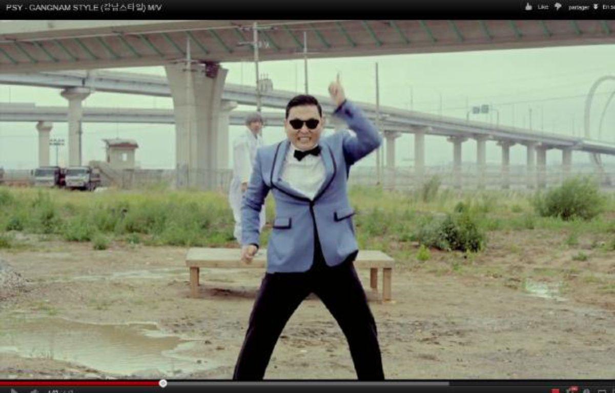 «Gangnam Style» de PSY.  – Capture Youtube