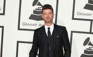 Le chanteur Calvin Harris aux Grammy Awards