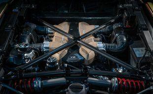 Un nouveau V12 Lamborghini au programme