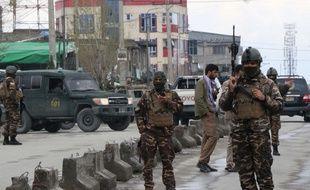 Plusieurs assaillants de Daesh ont attaqué un temple à Kaboul, le 25 mars 2020.