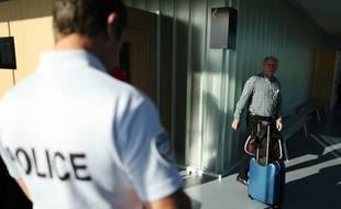 Bernard Sainz, attendant son procès au tribunal de Caen, le 4 juillet 2017.