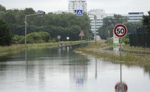 Inondations près de Tours le 4 juin 0216