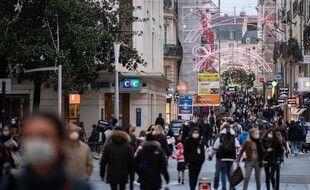 Une rue commerçante de Nantes (image d'illustration).