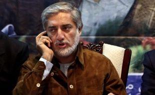 Abdullah Abdullah, candidat à l'élection présidentielle afghane, le 6 juin 2014.