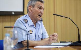 Miguel Ángel Villarroya, le chef d'état-major espagnol, a dû démissionner pour s'être fait vacciner trop tôt.
