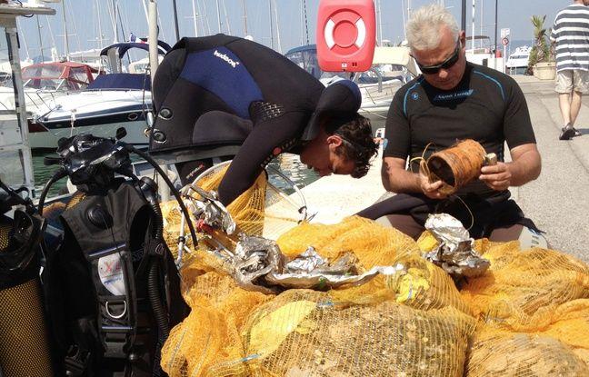Cannes: Encore plus de bombes au Festival pyrotechnique (et de déchets à récolter au fond de la mer)