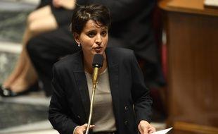 Najat Vallaud-Belkacem à l'Assemblée nationale, le 9 novembre 2016.