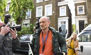 Le conseiller spécial de Boris Johnson Dominic Cummings à Londres le 24 mai 2020.