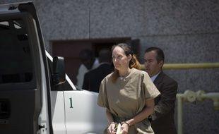 Shannon Guess Richardson, condamnée pour avoir envoyée des lettres empoisonnées notamment à Barack Obama, au Texas le 16 juillet 2014.