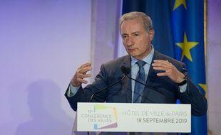 Jean-Luc Moudenc, maire de Toulouse, Président de Toulouse Métropole et président de France Urbaine, lors de la 19ème Conférence des villes le 18 septembre 2019 à Paris.