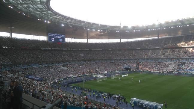 Video angers psg pr s de angevins ont envahi la - Places finale coupe de france ...