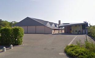 Le gymnase de Marckolsheim, 8 rue des Tabacs. Capture d'écran Google.