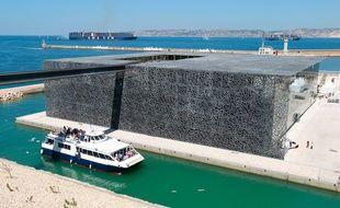 Marseille le 3 juin 2013 - Visite du MUCEM avant l'inauguration le 4 juin en présence du président de la république François HOLLANDE et l'ouverture au public le 7 juin prochain