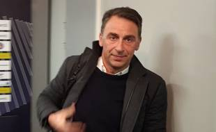 Olivier Sadran, le président du TFC, le 6 janvier 2020 au Stadium de Toulouse.