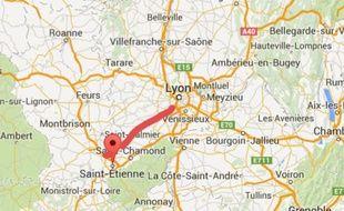 Projet autoroute A45 Saint-Etienne-Lyon