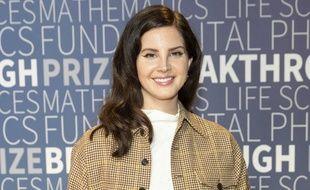 La chanteuse Lana Del Rey