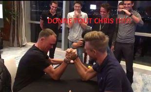 Chris Froome vs Marcel Kittel au bras de fer