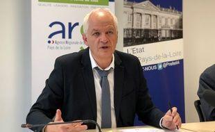Jean-Jacques Coiplet, directeur de l'ARS des Pays-de-la-Loire.