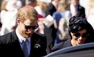Le prince Harry et Meghan Markle le 4 août 2018