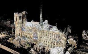 Andrew Tallon a scanné Notre-Dame au laser et modélisé la cathédrale en un milliard de points.