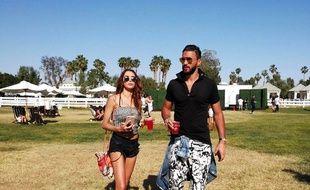 Incognito à L.A., Nabilla et Thomas s'offrent un bain de soleil avant d'assister à un festival où se produit Lady Gaga.