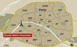 La directrice de l'école Alain-Fournier, dans le 14e arrondissement, a été agressé ce jeudi 19 février à la mi-journée.