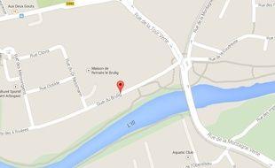 Quai du Brulig. Google Maps