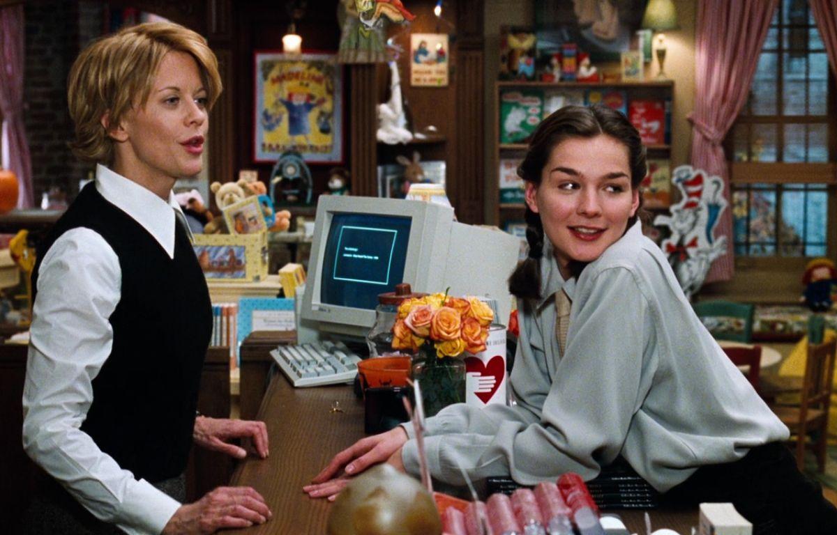 Qui ne voudrait pas de Meg Ryan, libraire dans Vous avez un message? (1998).   – DR