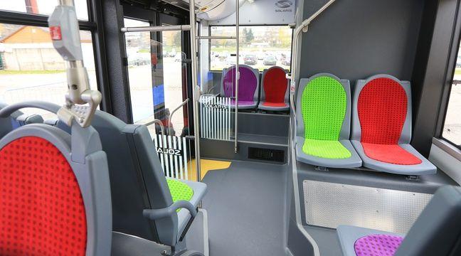 strasbourg un bus dor mais pas bling bling. Black Bedroom Furniture Sets. Home Design Ideas
